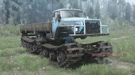 Ural 5920 (GSBT) for MudRunner