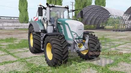 Fendt 826 Vario motor-konfigurationen for Farming Simulator 2017