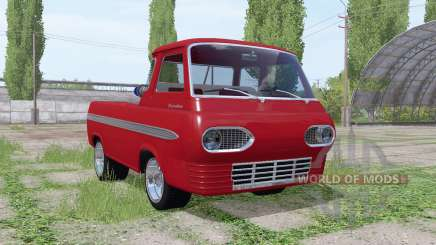 Ford Econoline pickup truck 1963 for Farming Simulator 2017