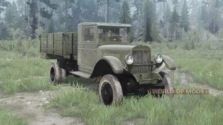 ZiS 32 1941 for MudRunner