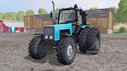 MTZ 1221В.2-Belarus dual wheels for Farming Simulator 2015
