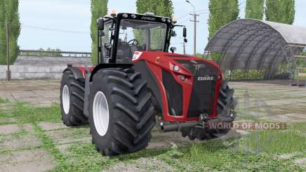 CLAAS Xerion 4500 Trac VC Red Design for Farming Simulator 2017