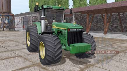 John Deere 8410 v3.0 for Farming Simulator 2017