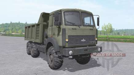 MAZ 6317 truck v2.3.2 for Farming Simulator 2017