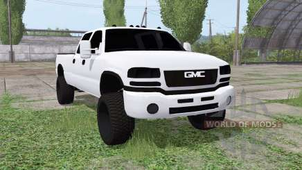 GMC Sierra 2500 HD Crew Cab (GMT800) for Farming Simulator 2017
