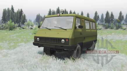 UAZ 3972 Car for Spin Tires