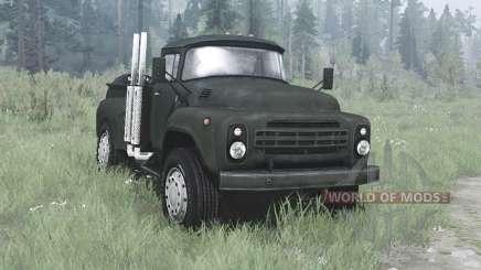 ZIL 130 pickup for MudRunner