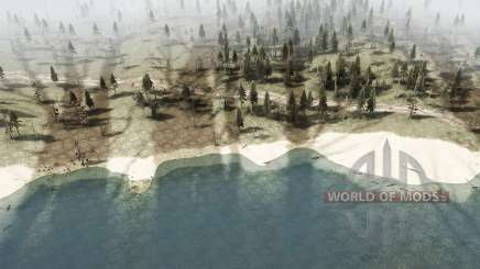 The harsh taiga 4 - Crossing the river for MudRunner