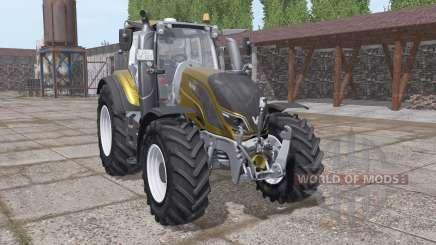 Valtra T194 gold design for Farming Simulator 2017