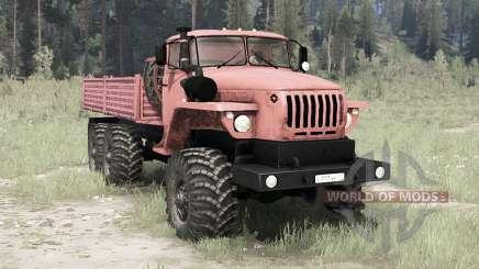 Ural 4320-41 6x6 for MudRunner