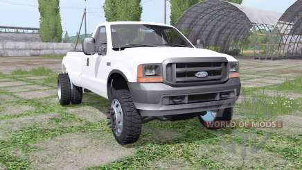 Ford F-250 DRW FX4 Regular Cab 1999 for Farming Simulator 2017