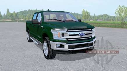 Ford F-150 XLT SuperCrew 2017 v2.0 for Farming Simulator 2017