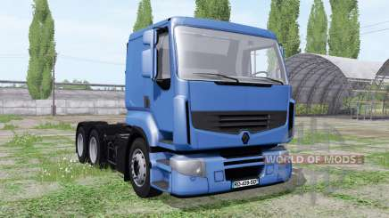 Renault Premium 6x6 pack for Farming Simulator 2017