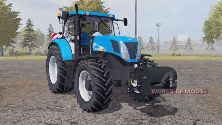 New Holland T7040 weight for Farming Simulator 2013