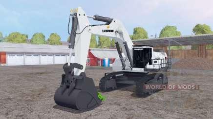 Liebherr R 9100 v1.1 for Farming Simulator 2015