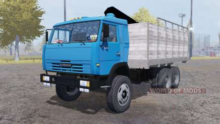 KamAZ 6520 v2.0 for Farming Simulator 2013