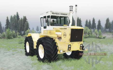 RABA Steiger 250 yellow-white for Spin Tires