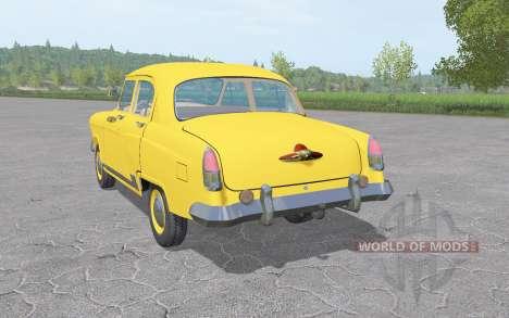 GAZ 21 Volga Taxi 1956 v1.3 for Farming Simulator 2017