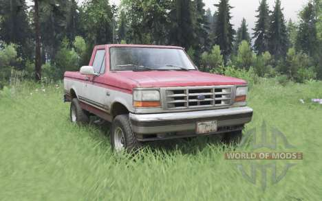 Ford F-150 Regular Cab XLT 1992 for Spin Tires