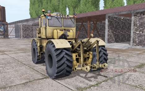 Kirovets K-700A interactive control v2.0 for Farming Simulator 2017