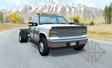 Gavril D-Series flatbed for BeamNG Drive