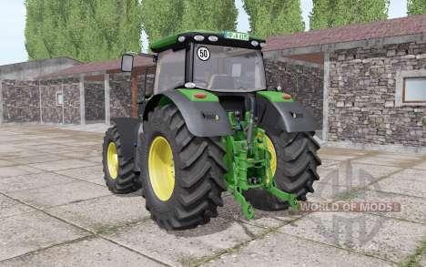 John Deere 6195R v2.0 for Farming Simulator 2017