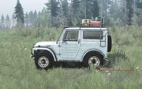 Suzuki LJ80 Hard Top 1978 for Spintires MudRunner