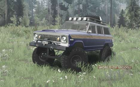 Jeep Wagoneer 1978 for Spintires MudRunner