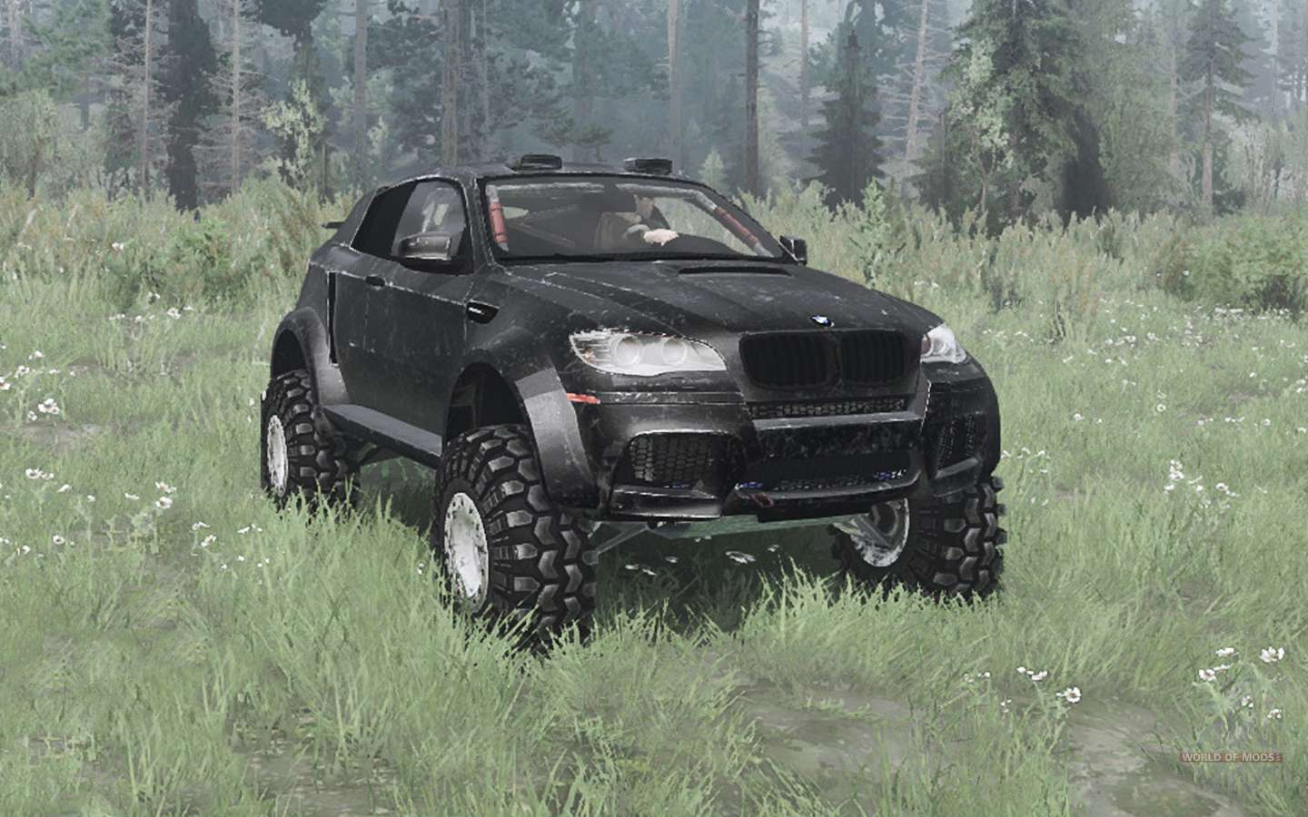 Bmw X6 M E71 2009 Lifted For Mudrunner
