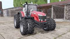 Massey Ferguson 8732 new sound for Farming Simulator 2017