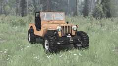 Jeep CJ-2A 1945 for MudRunner