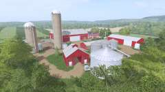 Autumn Oaks for Farming Simulator 2017