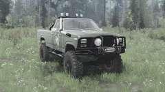 Ford F-150 Ranger 1982 lifted for MudRunner