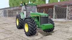 John Deere 8400 more realistic for Farming Simulator 2017