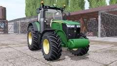 John Deere 7230R interactive control for Farming Simulator 2017