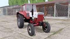 MTZ 80 Belarus red-white for Farming Simulator 2017