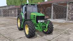 John Deere 7530 Premium v2.0.1.5 for Farming Simulator 2017