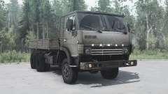 KamAZ 4310 6x6 green for MudRunner