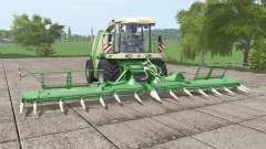 Krone BiG X 1100 bunker v1.1 for Farming Simulator 2017