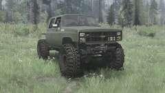 Chevrolet K30 1985 crawler for MudRunner