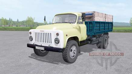 GAZ 53 truck v1.2 for Farming Simulator 2017