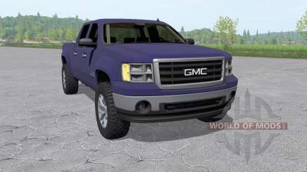 GMC Sierra 2500 HD Crew Cab 2010 v4.0 for Farming Simulator 2017