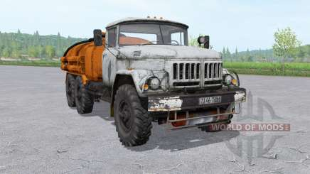 ZIL 131 tanker v1.2 for Farming Simulator 2017