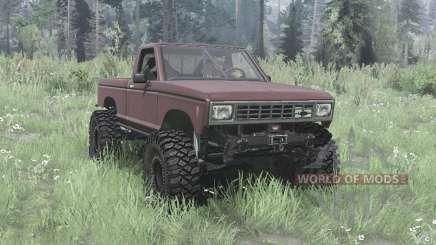 Ford Ranger 1982 lifted for MudRunner