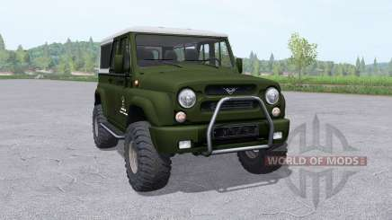 UAZ 3159 bars for Farming Simulator 2017