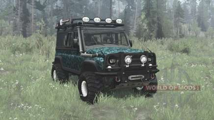 UAZ 3153 off-road for MudRunner