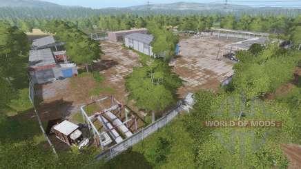The village of Molokovo v1.7.9 for Farming Simulator 2017