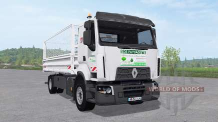 Renault D Paysagiste for Farming Simulator 2017