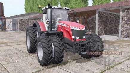 Massey Ferguson 8732 new sound for Farming Simulator 2017