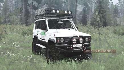The UAZ 3170 Terra v2.9 for MudRunner